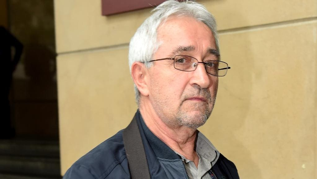 Ibrahim Omerdic leaves the Melbourne Magistrates court. Picture: Nicole Garmston