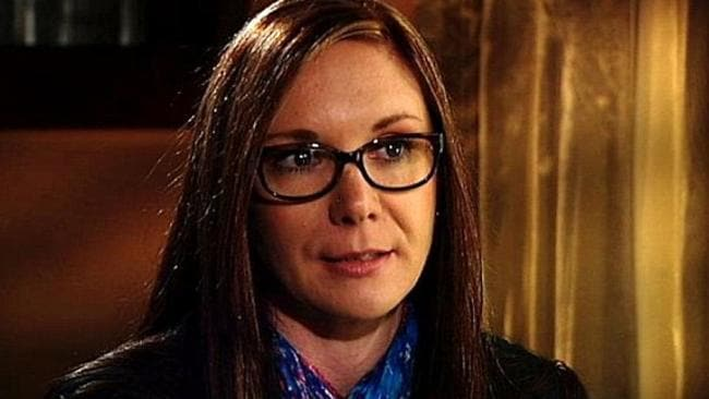Julie Stewart was molested as a nine-year-old by Father Searson told her 'the Lord forgives you'. Picture: ABC TV.