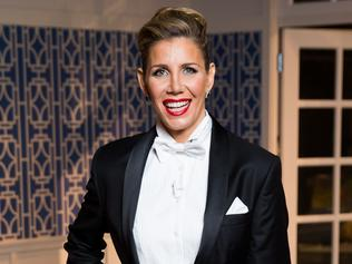 STRICTLY EMBARGOED TILL SAT MAY 13 10PM Real Housewives of Sydney Reunion episode. Athena Levendi. Picture: Supplied / Foxtel