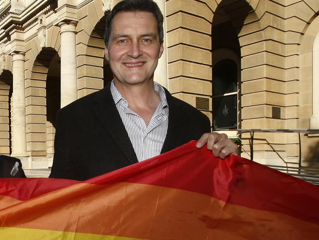 Marriage Equality advocate Rodney Croome said the plebiscite was a costly opinion poll.