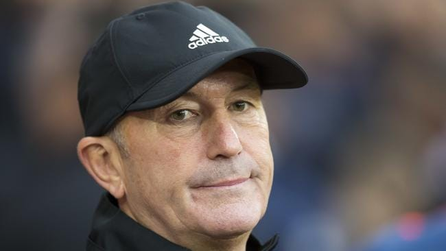 West Bromwich Albion's manager Tony Pulis.