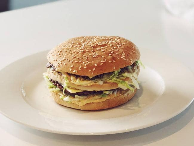 Daniel Whyte's version of the Big Mac looks pretty similar to the real deal.