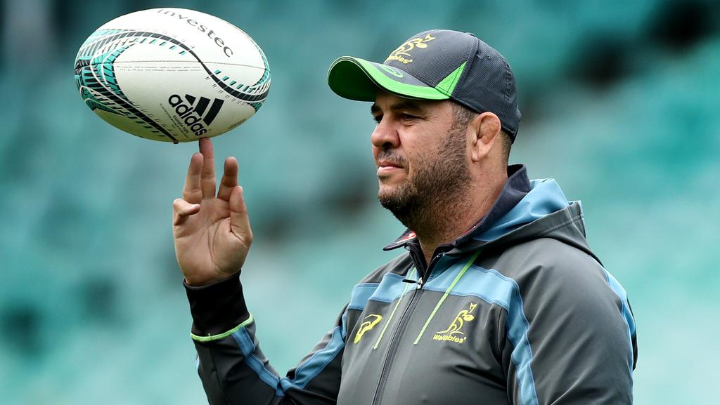 Michael Cheika has called for unity. Picture: Gregg Porteous