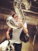 "A SNEAK peek at the best celebrity pix on social media - get your fix as it happens! Stephanie Rice getting her Monday chores done! ""Just in the lift with my ""S"" balloon... As you do emoji hahaha. Workout done and feelin good, now off to meet up with my fav @missprinnie for lunch."" Picture: Instagram"