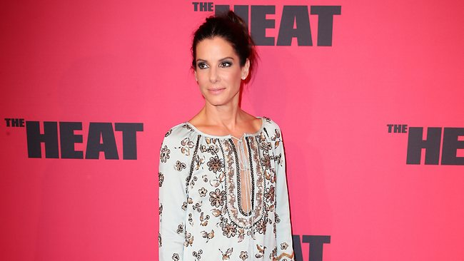 Sandra Bullock at the premier of the new Sandra Bullock comedy movie The Heat held at Event Cinemas on George Street in the CBD. Picture: Dobson Richard