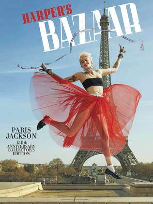 Paris Jackson in US Harper's Bazaar.