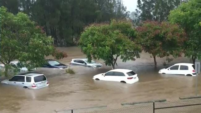 Image result for cars flooded robina