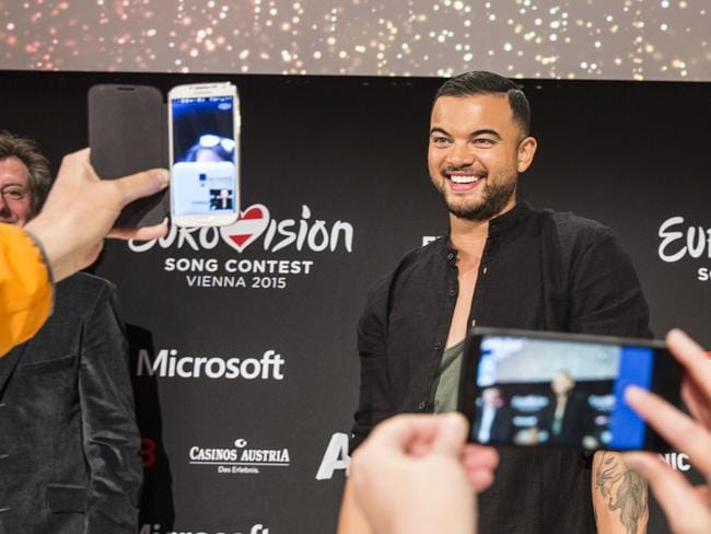 Guy Sebastian placed fifth in our first year of competition in 2015. Picture: Ella Pellegrini