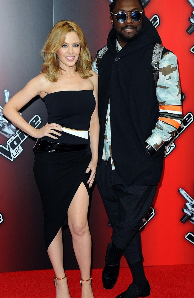 Will they maintain the huge ratings ... The Voice's new judges Kylie Minogue and will.i.a