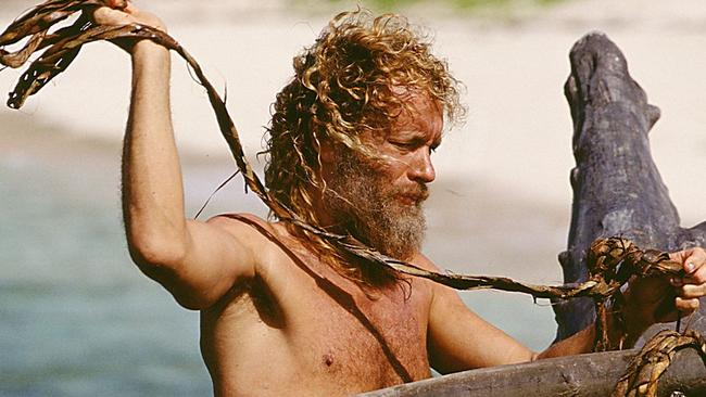 That sinking feeling ... Tom Hanks in Castaway - Picture: Supplied