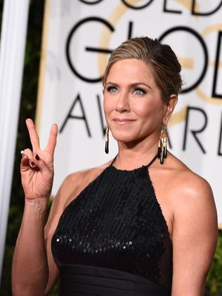 Star nominee ... actress Jennifer Aniston. Picture: AP