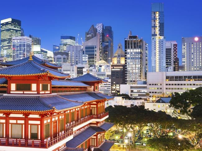 Want to feel welcomed as a tourist? Head to Singapore. Picture: iStock