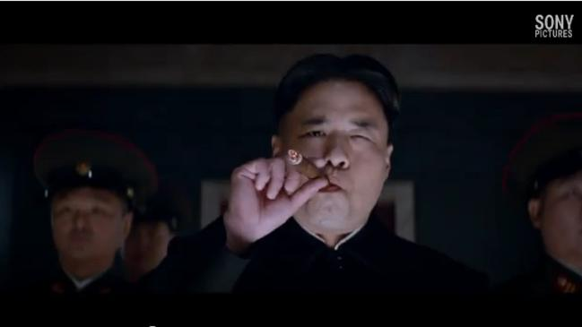 Kim Jong-un, played in the film by American actor Randall Park.