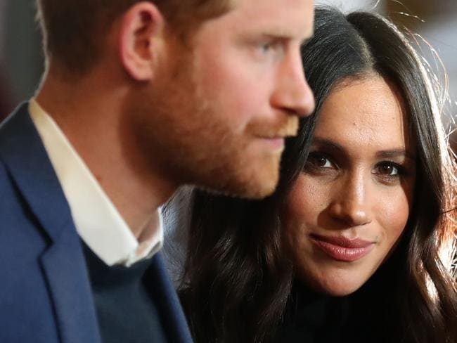 At 36, Meghan is entering the royal family, known as 'the firm' on her own terms and making her own rules. Picture: AFP/Andrew Milligan