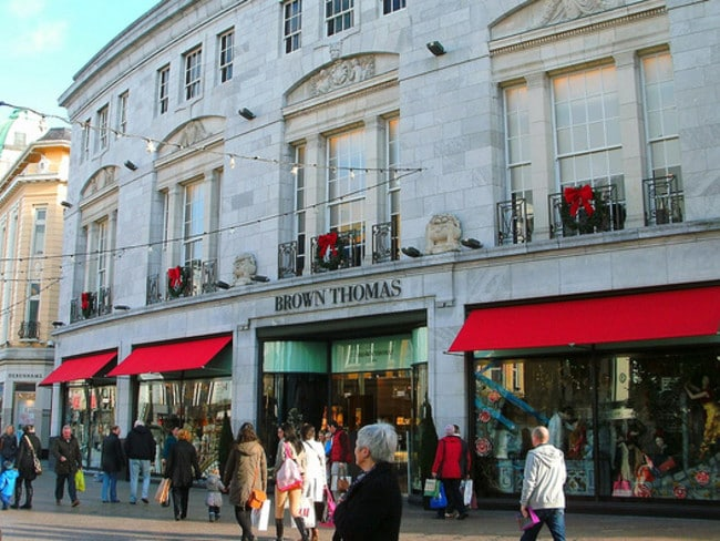 Brown Thomas is fabulous, but if you can't afford it Penneys on O'Connell Street is pretty great. Picture: Flickr Ninian Reid