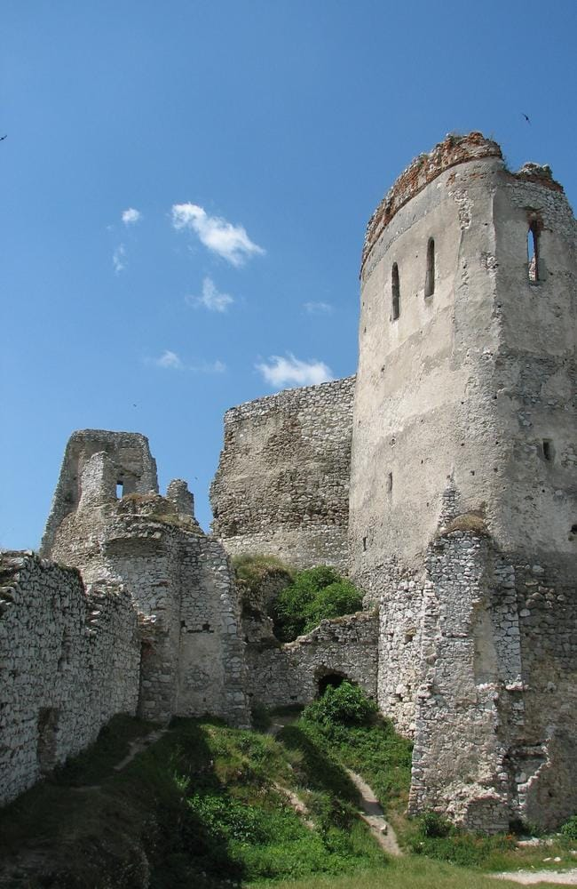 Cachtice castle. Picture: Jan Sokoly