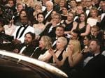 "Audience reacts to ""Moonlight"" being announced as best picture winner during the 89th Annual Academy Awards. Picture: AP"
