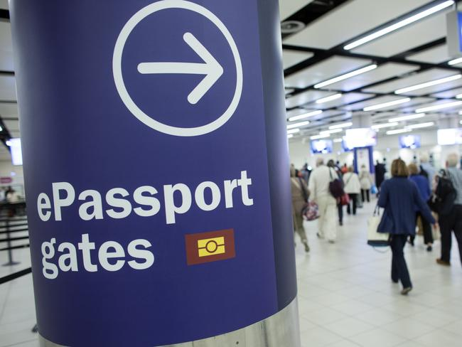 A passport's power derives from the number of countries it can gain visa-free access to. Picture: Oli Scarff/Getty Images