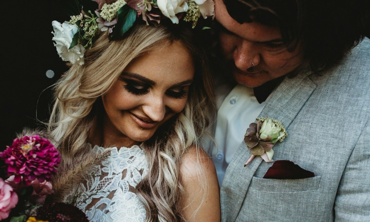 'We just had our dream wedding, now I'm fighting to grow old with him'
