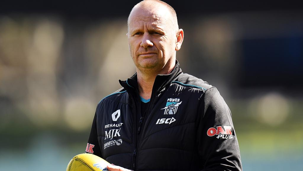 Will Ken Hinkley jump to the Gold Coast Suns. Picture: Getty Images