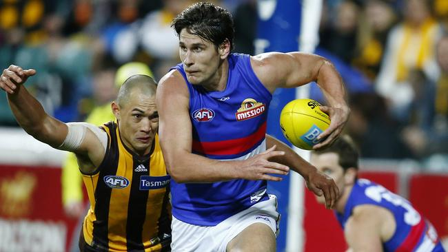 Ryan Griffen never expected to reach 200 games. Picture: Michael Klein