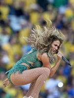 Singer Jennifer Lopez performs during the Opening Ceremony of the 2014 FIFA World Cup Brazil prior to the Group A match between Brazil and Croatia at Arena de Sao Paulo on June 12, 2014 in Sao Paulo, Brazil. (Photo by Adam Pretty/Getty Images)