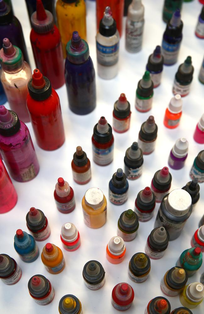 The ECHA findings could result in a number of inks being banned. Picture: David Clark