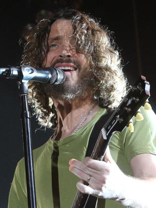 I can see your wrinkles! … Chris Cornell from Soundgarden.