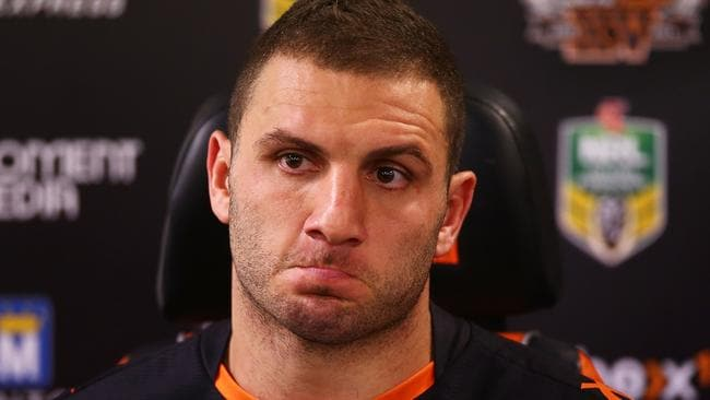 Robbie Farah after the round 20 NRL loss to St George Illawarra.