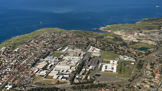 An aerial view of Long Bay Correctional Complex in Sydney, NSW.