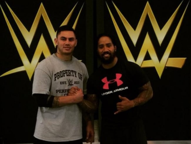 Daniel Vidot has trained with the WWE.