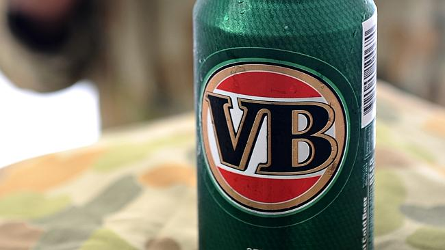 VB's parent company CUB was bought out by British/South African company SABMiller in 2011. Picture: News Limited.