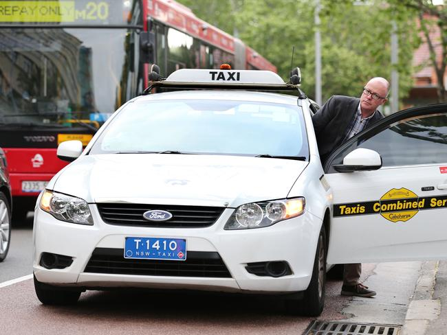 Taxi plate owners will be compensated for the reduction in the value of their plates. Picture: Craig Greenhill