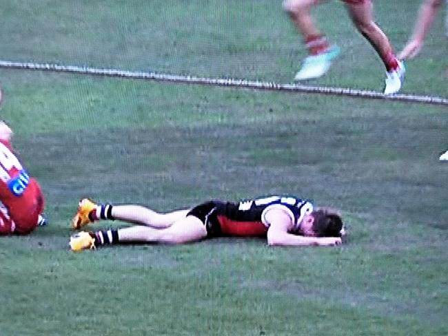 Jack Newnes was out for the count.