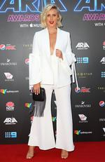 Liv Phyland arrives for the 31st Annual ARIA Awards 2017 at The Star on November 28, 2017 in Sydney, Australia. Picture: Lisa Maree Williams/Getty Images for ARIA)