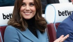 Kate 'no manicure' Middleton. Image: Getty