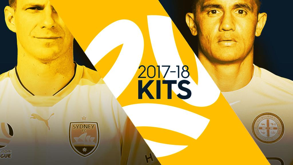 New A-League kits for 2017-18