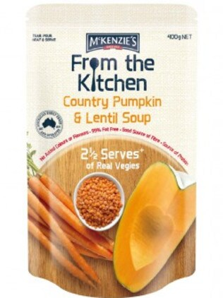 McKenzie's From the Kitchen tetra pack soup.