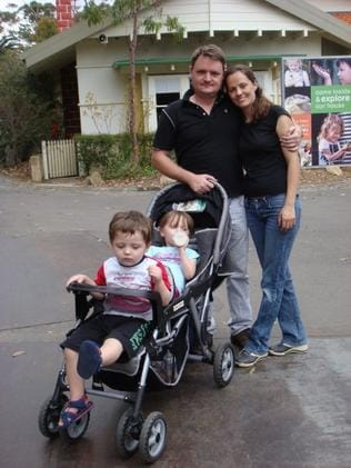 Fernando Manrique and Maria Claudia Lutz with their children. Picture: Facebook