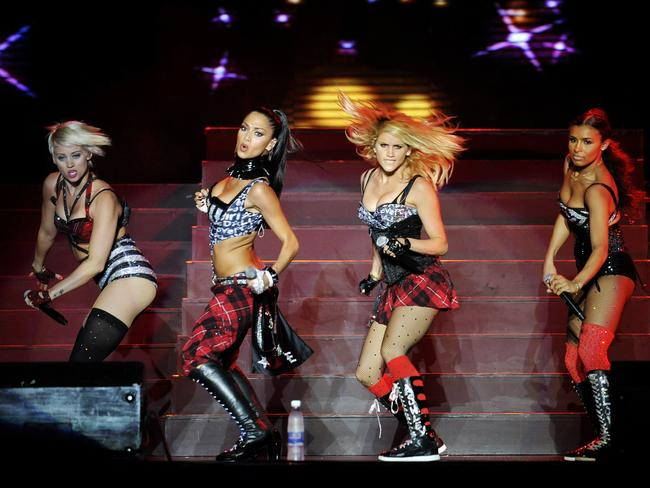 The Pussycat Dolls shot to stardom shortly after Jones left the group. Picture: Jay Directo / AFP