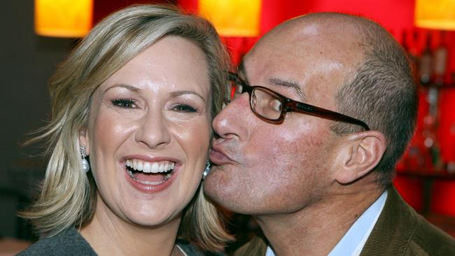 """Remarkable bond ... Boland's book will go behind Melissa Doyle and David Koch's off-air relationship and the """"times of crisis"""" they supported each other through."""