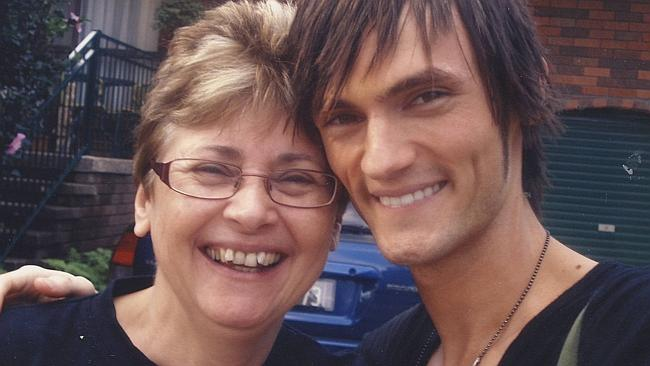 """During my """"twink"""" days, pictured with mum. Poor thing, she had to put up with so much drama."""
