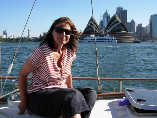 Susan Neill-Fraser on Four Winds in Sydney Harbour 2008, lived a privileged life before her murder conviction.