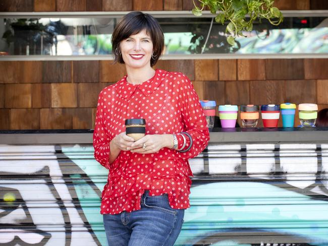 KeepCups are in hot demand, says chief executive Abigail Forsyth. Picture: Arsineh Houspian