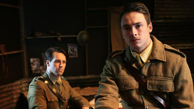 the effects of war in the play journeys end Journey's end is a 1928 dramatic play in 1918 towards the end of the first world war, journey's end gives a glimpse into the experiences of the officers of a.