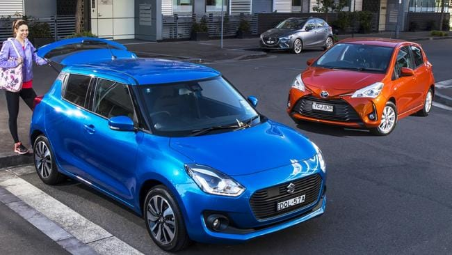 Small cars now have hi-tech features once exclusive to luxury cars. Photo: Supplied.