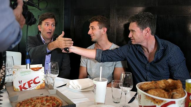 Colin Lane, Tommy Little and Dave Hughes get chatty on video.