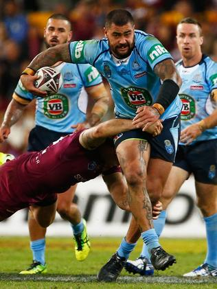 Queensland could not contain Andrew Fifita in Origin I.