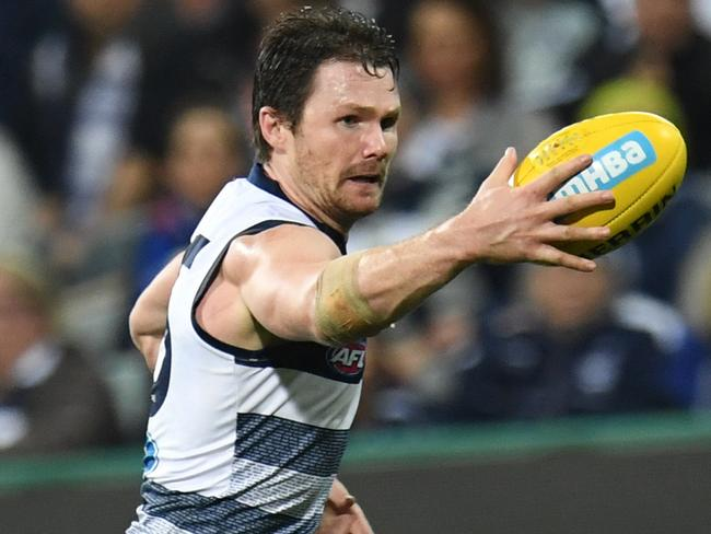 Patrick Dangerfield had a night out for the Cats.