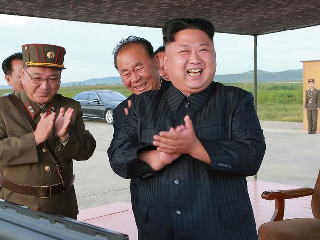 The US have issued a chilling warning to Americans wanting to travel to North Korea. Picture: AP